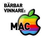 Bärbar vinnare: Mac