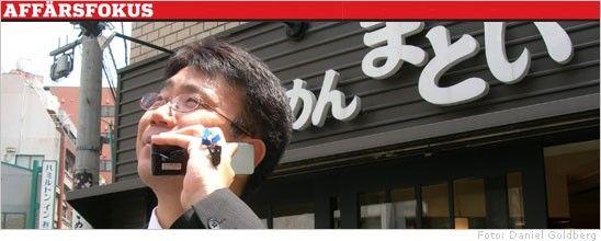 Ericsson saljer till japaner