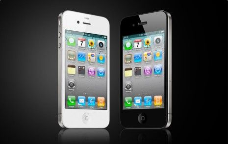svart och vit Iphone