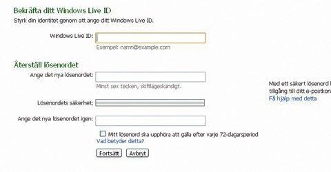 Kontakta Hotmail Sverige