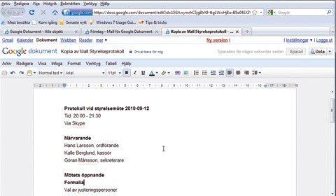 Så Får Du Perfekta Googledokument Med Smidiga Mallar PC För Alla - Google dokument