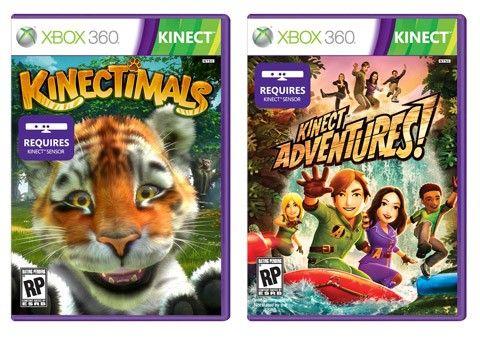 Spel till Microsoft Xbox Kinect