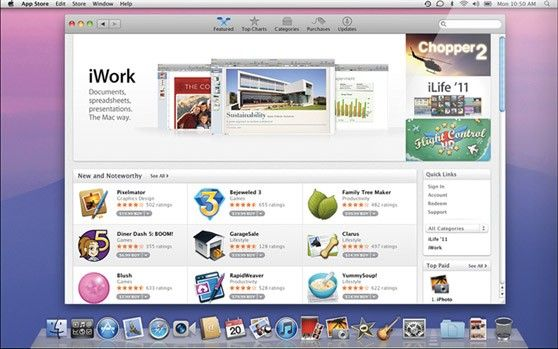 OS X Lion Mac App Store