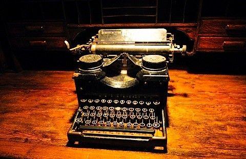 skrivmaskinen död