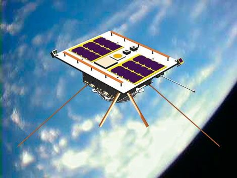 satellit i omlopp