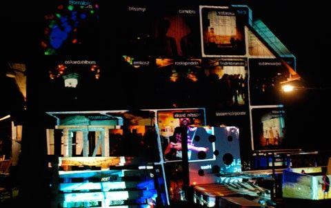 Facewall på SSWC 2011