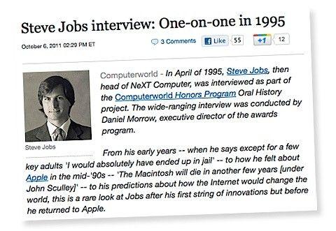 steve jobs intervju