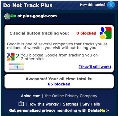 insticksprogram spårning do not track