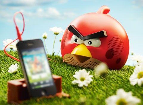 Gear4 Angry Birds Speaker Shrub Finch  Riktigt arg högtalare - M3 4c4b2c5d2ba2f