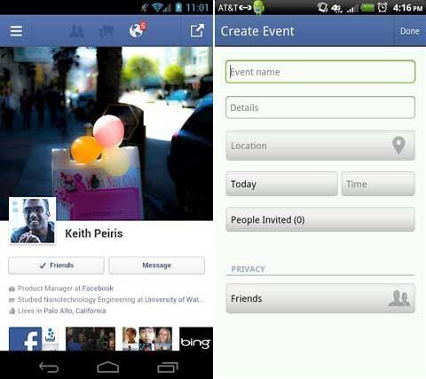 Hitta vänner android och iphone