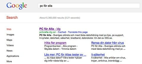 gamla google