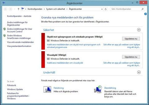 Windows 8 säkerhet
