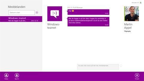 Windows 8 molntjänst