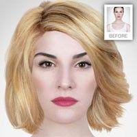 testa olika frisyrer på nätet gratis