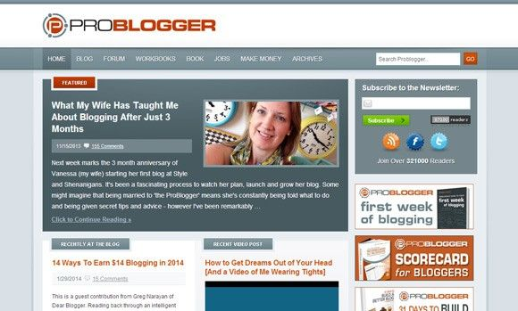 blogg wordpress