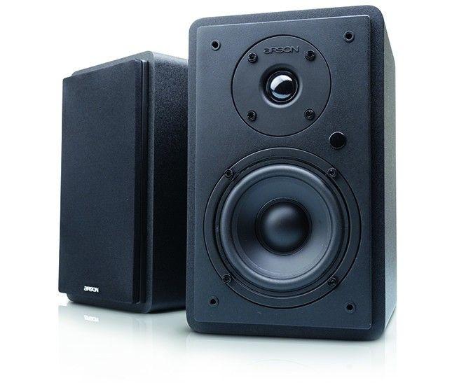 En aktiv högtalare har inbyggd förstärkning medan en passiv högtalare  behöver en extern förstärkare och en kabel till den. 964a5432d57b4