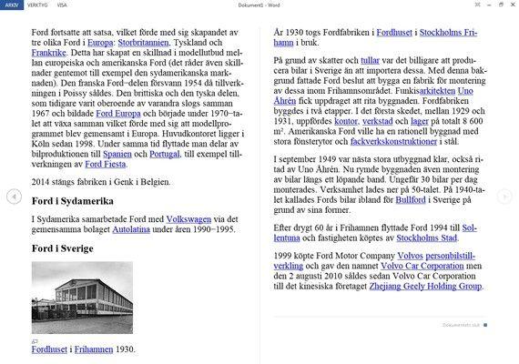 Redigerbar Karta Sverige.9 Satt Att Jobba Smartare I Microsoft Word 2013 Pc For Alla