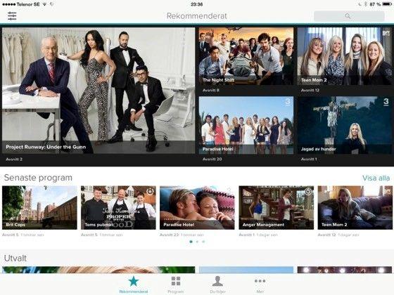 TV3 + TV6 + TV8 Play