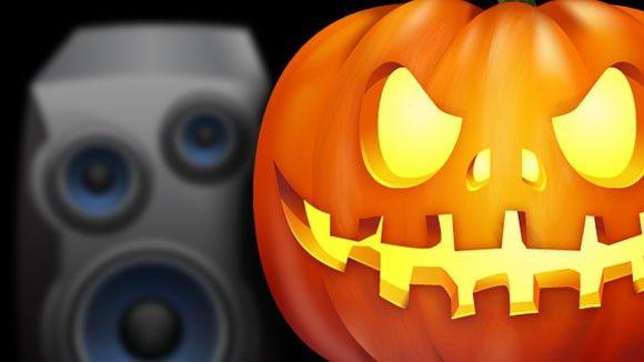 Skräckljuden för Halloween-festen