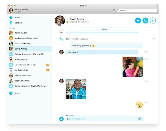 Skype for Windows Desktop