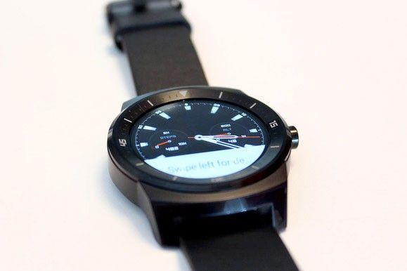 Pris på LG G Watch R