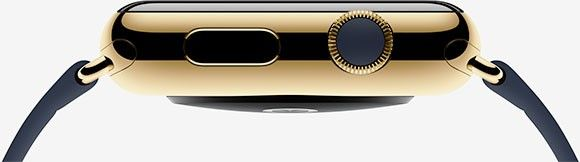 Apple Watch Edition i guld