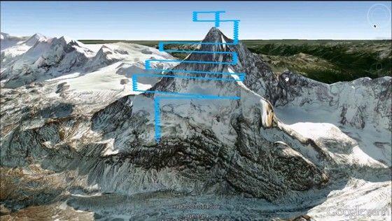 Matterhorn - 3D mapping