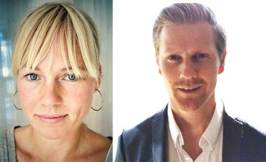 Anna Söderblom och Carl-Johan Engberg