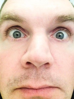 Här är jag på högkant. Med mun.