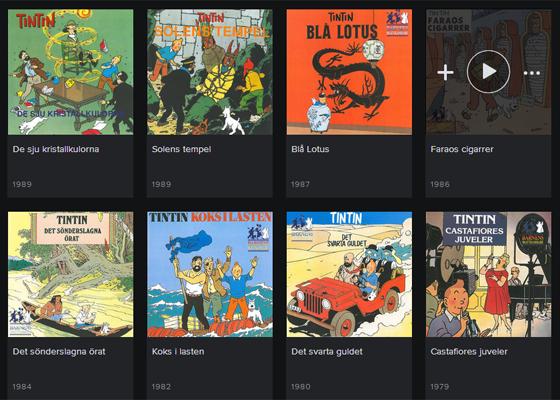 20 Tintin Aventyr Pa Spotify Pc For Alla