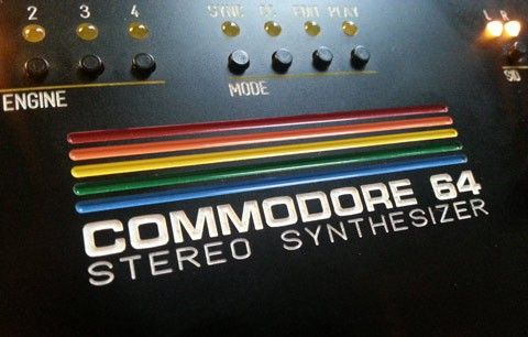 Commodore 64 Stereo Synthesizer