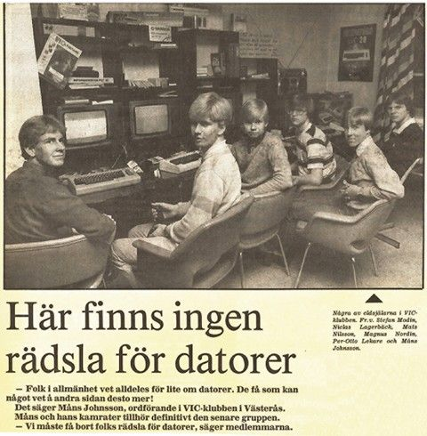 Westerås Vic-klubb, 1980-tal.