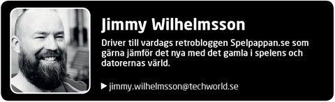 Jimmy Wilhelmsson, Spelpappan.