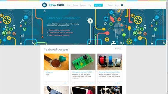 En annan mycket populär sajt är Youmagine (www.youmagine.com) som drivs av  Ultimaker. Upplägget liknar Thingiverses. Det märks att det är en nyare  sajt med ... 79d7fa44599dc