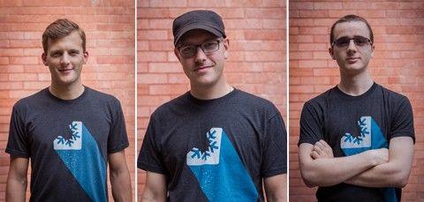 Alexander Bergendahl, Markus Palviainen och Filip Lundgren är personerna bakom indiestudion Poppermost.