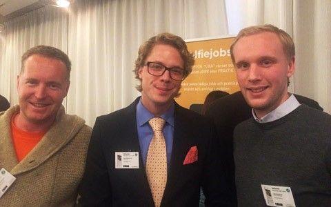 Ludvig Persson Lejon, Anton Klava och Limor Janssen, Selfiejobs
