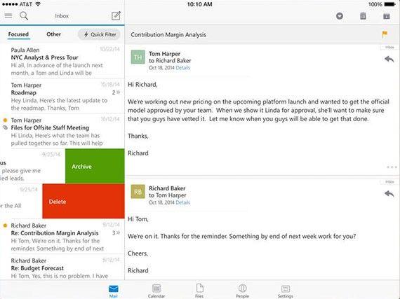 Outlook för IOS