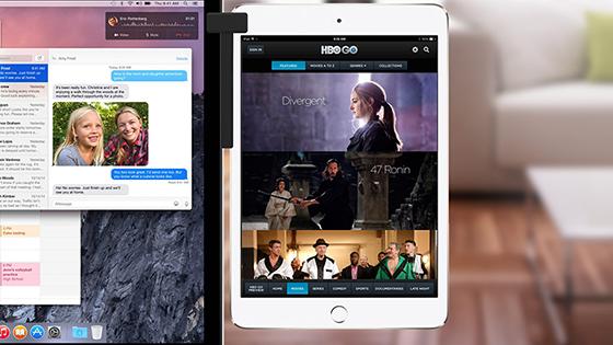 Går det använda iPad som en extern skärm?