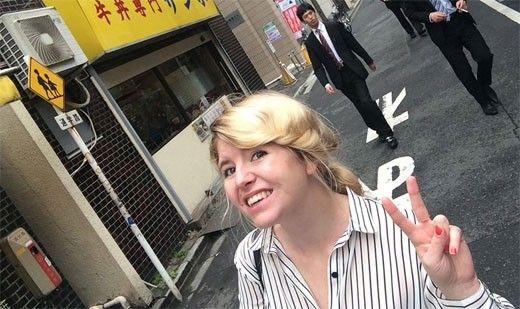 Japan Emelie Fågelstedt