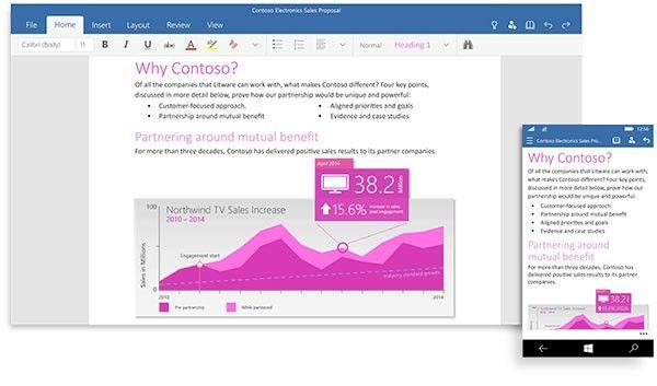 Här är de nya Office-apparna för Windows 10