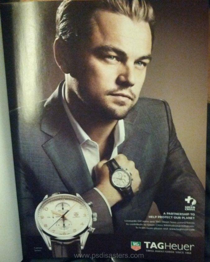 Leonardo DiCaprio med för liten hand