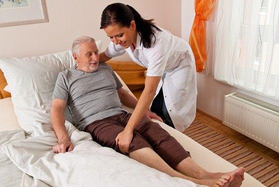 Hemsjukvårdare