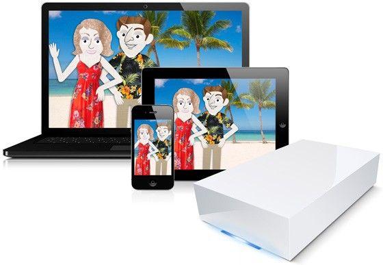 Lacie Cloudbox med Mac, Ipad och Iphone