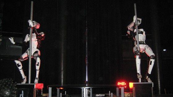 Robotic Poledancers