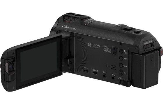 panasonics videokamera för 4k