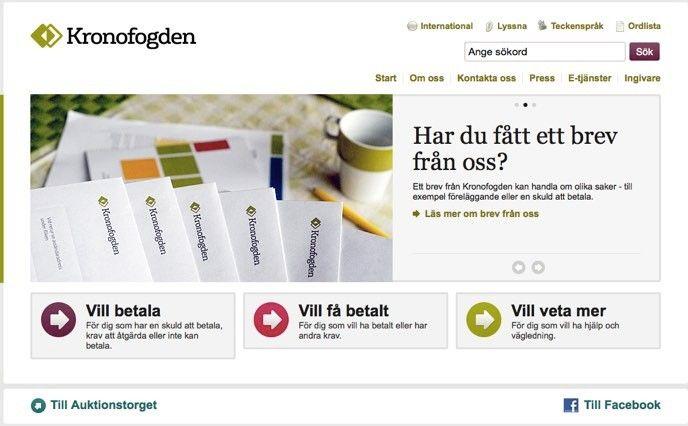Svenska myndigheter bra pa e tjanster