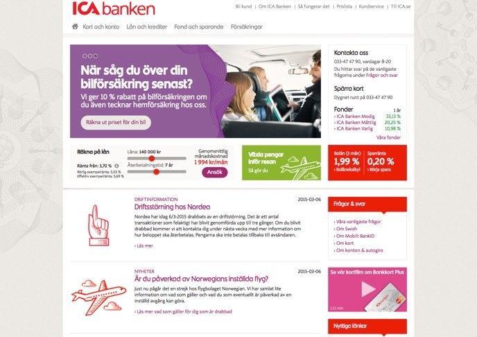 ICA-banken
