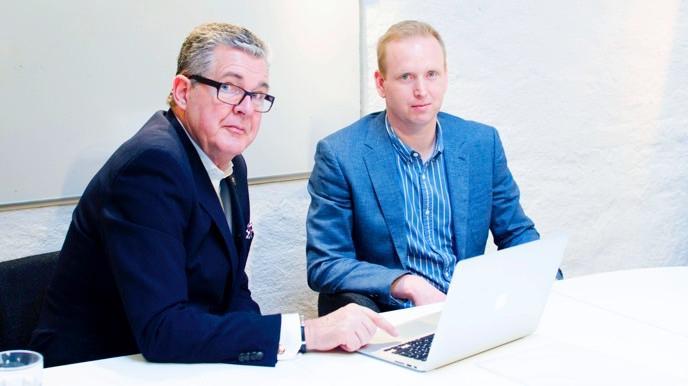 Bo Lindell och Johan Frykdahl