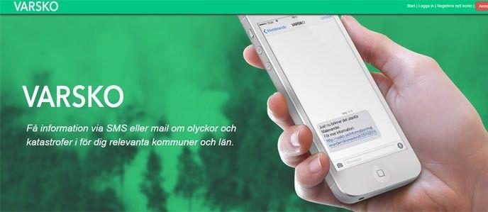 Varsko-app
