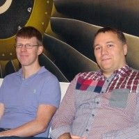 Fredrik Lindahl och Mikael Robertsson